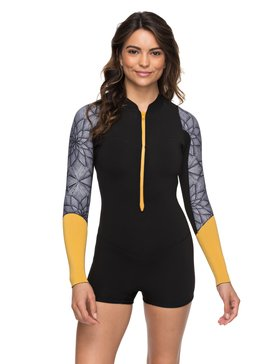 2mm Pop Surf - Long Sleeve Front Zip Springsuit  ERJW403016