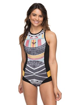 1mm POP Surf - Back Zip Neoprene One-Piece for Women  ERJW603013