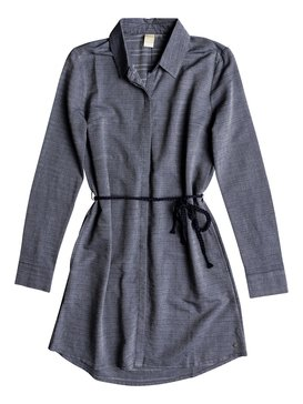 Crazy Whisper - Long Sleeve Shirt Dress  ERJWD03254
