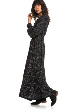 Subway Atmosphere - Long Sleeve Maxi Dress  ERJWD03259