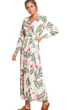 Taste Of Tomorrow - Long Sleeve Wrap Dress for Women  ERJWD03309