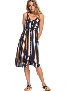Sunset Beauty - Strappy Midi Dress for Women  ERJWD03313
