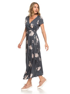District Day - Short Sleeve Maxi Dress for Women  ERJWD03317