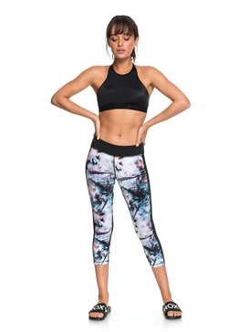 Spy Game - Technical Capri Leggings  ERJWP03018