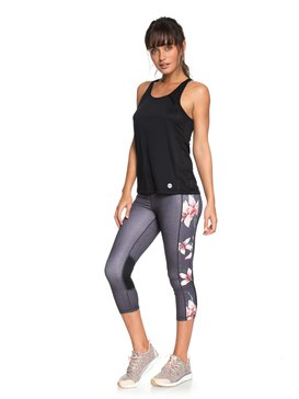 Spy Game - Technical Capri Leggings for Women  ERJWP03018