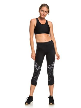 87de73da900 Sandy Vocation - UPF 50 Capri Workout Leggings for Women ERJWP03021