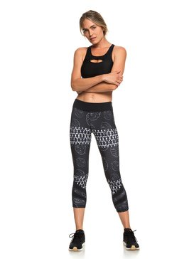 Explosive Feeling - Capri Workout Leggings for Women  ERJWP03023