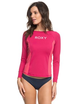 On My Board Colorblock - Long Sleeve UPF 50 Rash Vest for Women  ERJWR03210