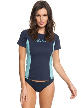 On My Board Colorblock - Short Sleeve UPF 50 Rash Vest for Women  ERJWR03211