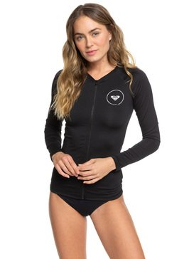 Essentials - Long Sleeve UPF 50 Zipped Rash Vest  ERJWR03218