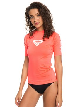Whole Hearted - Short Sleeve UPF 50 Rash Vest  ERJWR03219