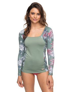 SUN WAVES AND ROXY LS LYCRA  ERJWR03235