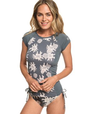 ROXY - Cap Sleeve UPF 50 Rash Vest for Women  ERJWR03286