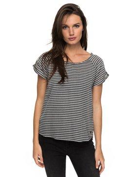 Gypsy Path Striped - Short Sleeve Top for Women  ERJWT03165