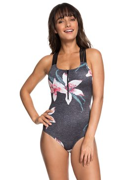 ROXY Fitness - Sporty One-Piece Swimsuit for Women  ERJX103144