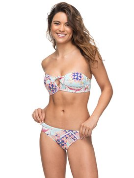 Aloha ROXY - Bandeau Bikini Set for Women  ERJX203263