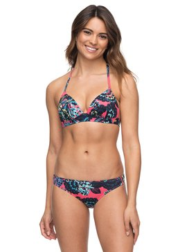 Salty ROXY - Moulded Tri Bikini Set for Women  ERJX203266