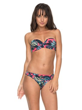 Salty ROXY - Moulded Bandeau Bikini Set for Women  ERJX203267
