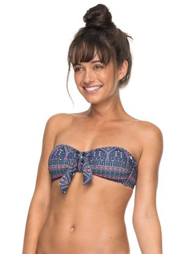 Sun, Surf And ROXY - Bandeau Bikini Top for Women  ERJX303598