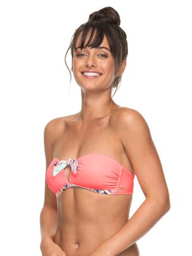 Aloha ROXY - Moulded Bandeau Bikini Top for Women  ERJX303600