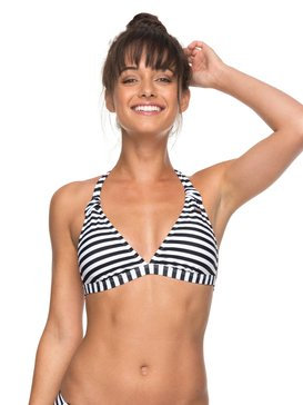 ROXY Essentials - Halter Bikini Top for Women  ERJX303653