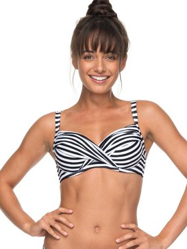 ROXY Essentials - D-Cup Bra Bikini Top  ERJX303654