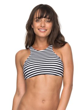 ROXY Essentials - Crop Bikini Top for Women  ERJX303656