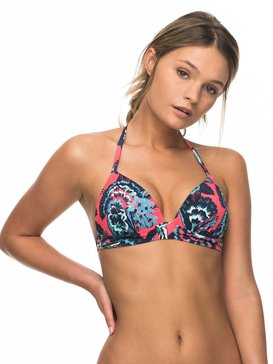 Salty ROXY - Moulded Tri Bikini Top for Women  ERJX303663