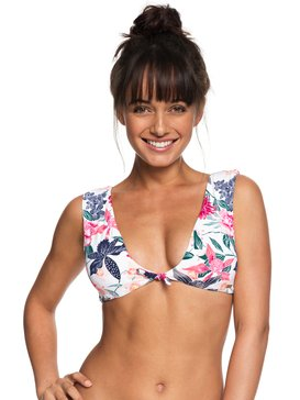 Urban Waves - Elongated Tri Bikini Top for Women  ERJX303738