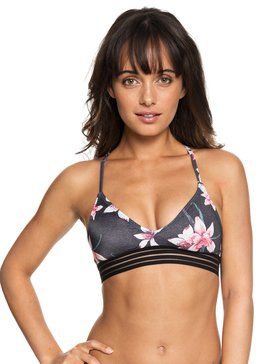 ROXY Fitness - Athletic Tri Bikini Top for Women  ERJX303757