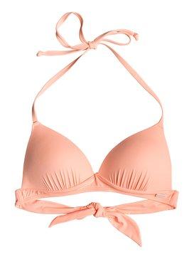 Beach Classics - Moulded Triangle Bikini Top for Women  ERJX303951