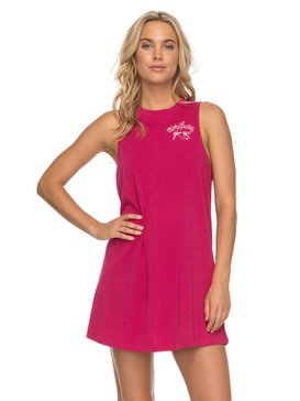 ROXY Shiny - Sleeveless T-Shirt Dress for Women  ERJX603108