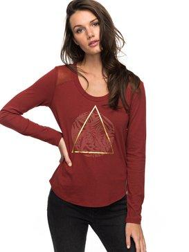 Air Potato Jungly Triangle - Long Sleeve T-Shirt for Women  ERJZT04047