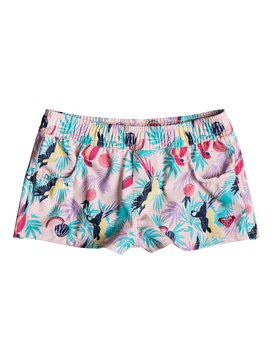 Vintage Tropical - Board Shorts for Girls 2-7  ERLBS03026
