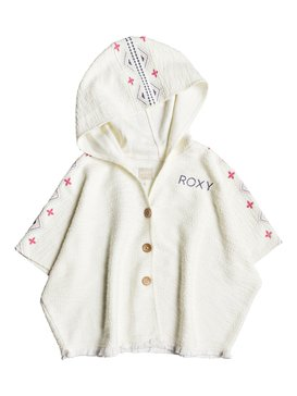 Moonlight Waves - Hooded Poncho Jacket for Girls 2-7  ERLFT03129