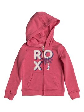 Autumn Wind Multi Palm Tree - Zip-Up Hoodie for Girls 2-7  ERLFT03138