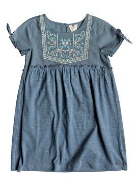 Ocean Away - Short Sleeve Dress for Girls 2-7  ERLKD03062