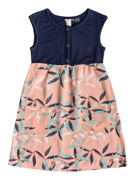 Sun And Waves - Midi Dress for Girls 2-7  ERLWD03056