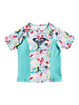 Simply ROXY - Short Sleeve UPF 50 Rash Vest for Girls 2-7  ERLWR03072