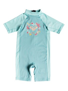 Soul Mermaids - Short Sleeve One-Piece UPF 50 Rashguard for Girls 2-7  ERLWR03073