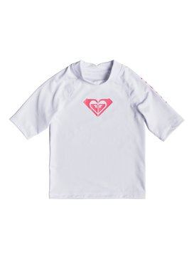 Whole Hearted - Short Sleeve UPF 50 Rash Vest for Girls 2-7  ERLWR03074