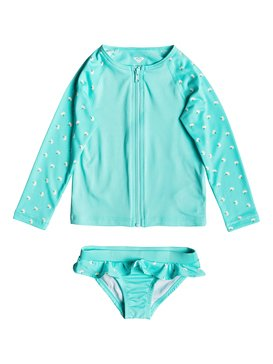 TROPICAL BLOOMS LS ZIP LYCRA S  ERLWR03080