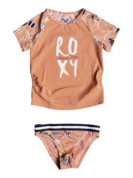 LET S BE ROXY SS LYCRA SET  ERLWR03084