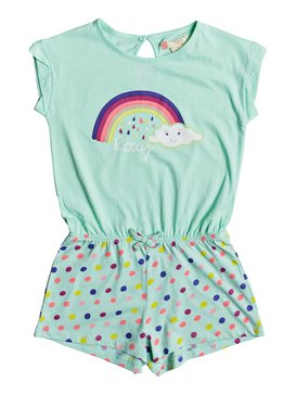 Rainbow Dots - Beach Romper  ERLX603001