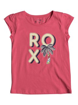 Moidti Palm Tree - Cap Sleeve T-Shirt for Girls 2-7  ERLZT03122