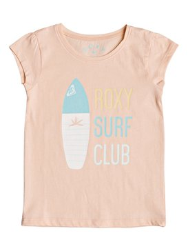 Moid Surf Club - Cap Sleeve T-Shirt for Girls 2-7  ERLZT03124