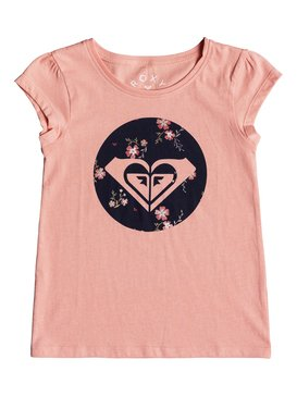 Moid Flowers - Cap Sleeve T-Shirt for Girls 2-7  ERLZT03138