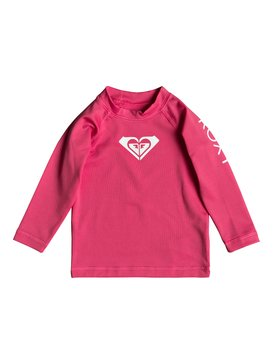Whole Hearted - Long Sleeve UPF 50 Rash Vest for Baby Girls  ERNWR03012