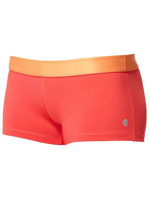 0 Hot Competition Fitted Shorts  436000 Roxy