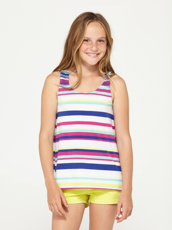 0 Girls 7-14 Blossoms Tank Top  487455 Roxy